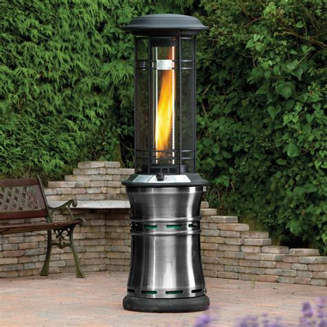 Lifestyle Santorini Flame 11kw Gas Patio Heater Internet Gas Outdoor Heaters Patio