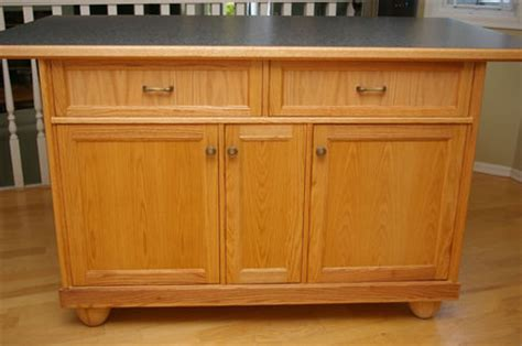 oak kitchen islands oak kitchen island by jim lumberjocks com