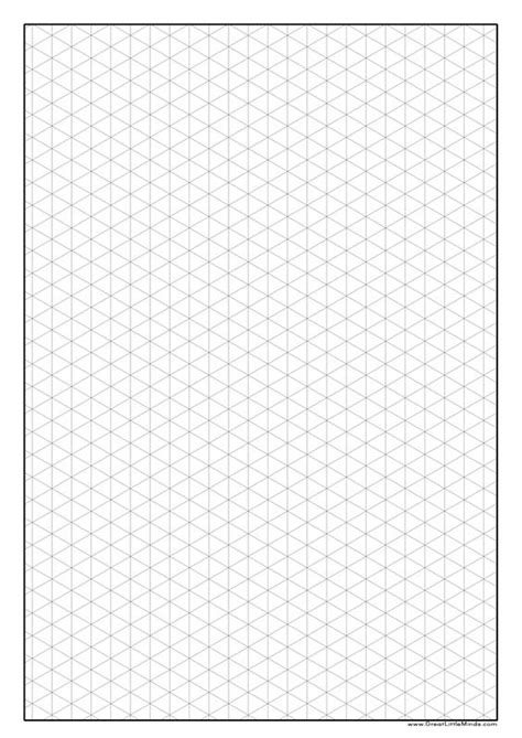 isometric drawing template graph paper isometric a4 jpg 2 480 215 3 508 pixels craft