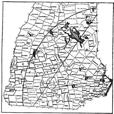 map of southern nh map of southern new hshire towns afputra