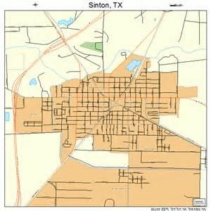 sinton map sinton map 4868036