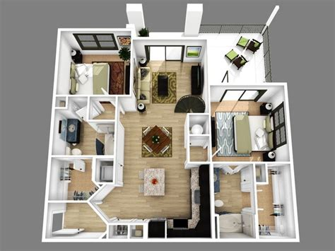 modern 2 bedroom apartment floor plans best 25 apartment floor plans ideas on sims 3