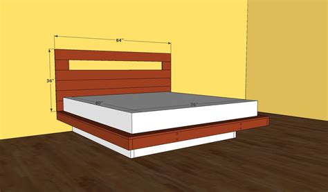 Diy Platform Bed Frame Diy Japanese Platform Bed Frame Plans Plans Free