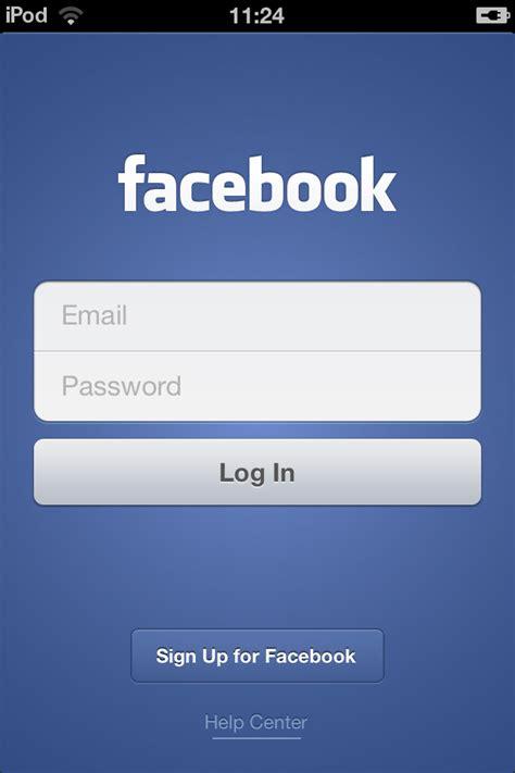 facebook log in create facebook app like login ui animation in iphone