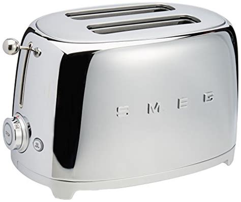 Chrome Toaster Smeg 2 Slice Toaster Chrome Desertcart