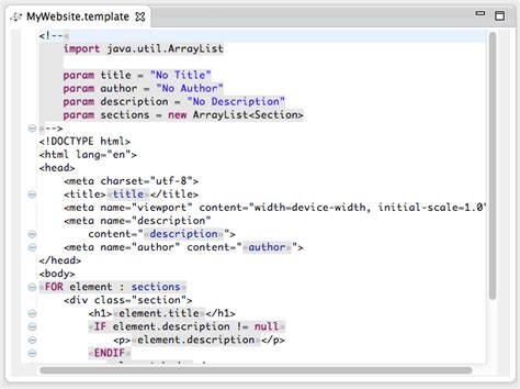 template language http webdesign14 com