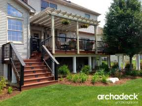 Creative deck design ideas outdoor living with archadeck of