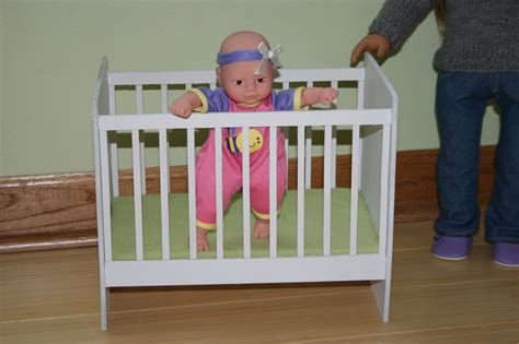 Doll With Crib by Arts And Crafts For Your American Doll Crib For