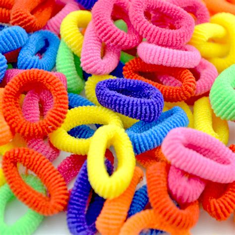 200 pcs colorful child kids hair holders cute rubber hair wholesale 100 pcs colorful child kids hair holders cute