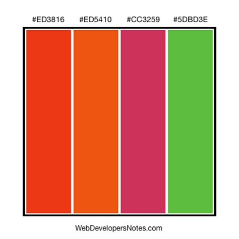 color combination for orange orange color combinations