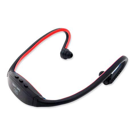 Earphone Sport Mp3 wireless earphones headphones sports mp3 fm player for cycling ebay