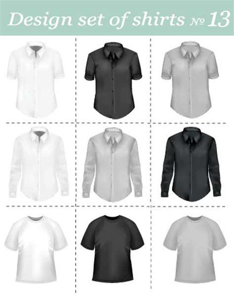 Kaos 3d Black Card different apparel and t shirt shirt mix vector 06 vector