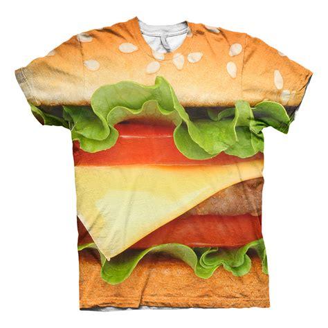 Burger Tshirt burger allover t shirt partykungen se
