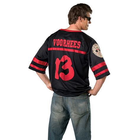 Costume Name Jersey friday the 13th jason hockey jersey with mask