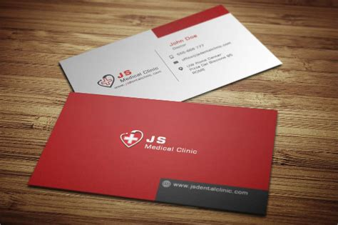 25 medical business card templates free premium download
