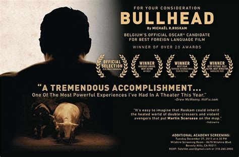 best film oscar in 2011 oscar nominated drafthouse films bullhead to get limited