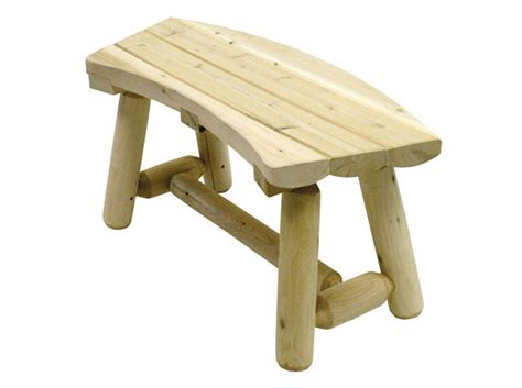 log benches outdoor outdoor 3 curved log bench