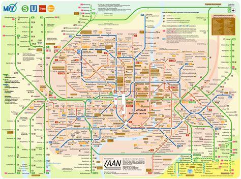 munich map munich transportation map munich mappery