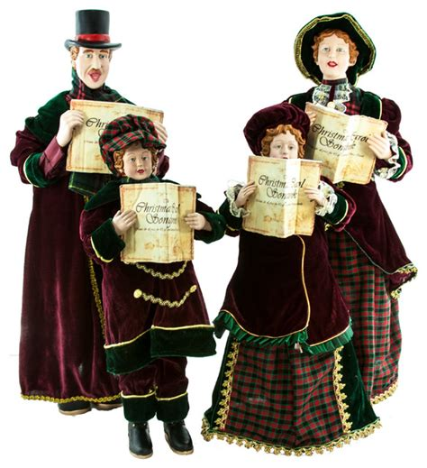 christmas carolers decorations sale christmas caroling