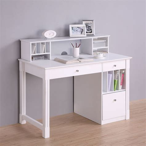 white office desk with hutch best 25 white desks ideas on desks ikea desk