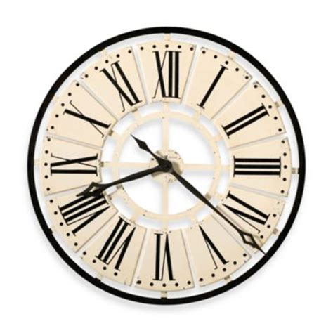 bed bath and beyond clocks buy large wall clocks from bed bath beyond
