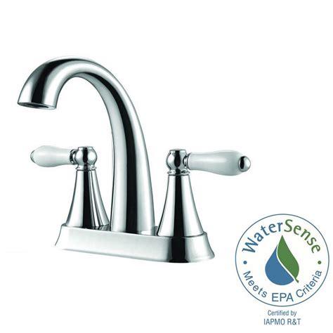 pfister faucet bathroom ceramics pfister kaylon 4 in centerset 2 handle bathroom faucet in