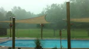 Outdoor Sail Shades Patio My Outdoor Sun Shade Sails Survive A Spring Storm Youtube