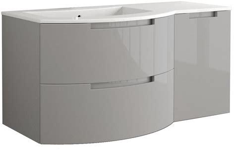 53 inch bathroom vanity 53 inch modern floating bathroom vanity grey glossy finish