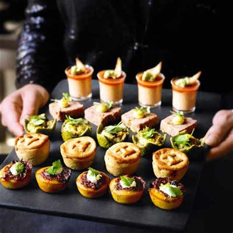 heston s party food finishing touches