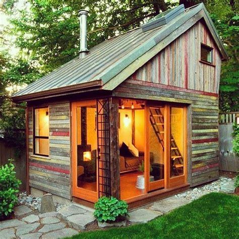 people turned tiny backyard sheds   coolest part