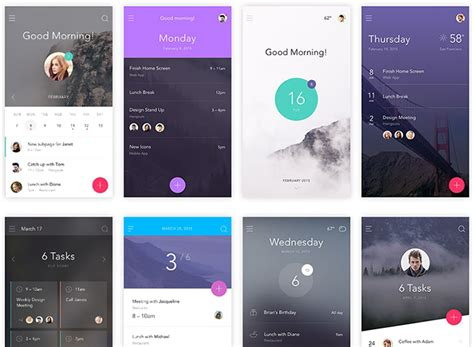 mobile ui themes 7 free ui kits for website or mobile app projects