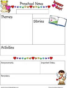 preschool newsletter templates school newsletter template for excel pdf and word