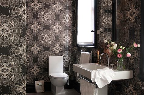 Bathroom Lining Wallpaper Every Cloud Has A Silver Er Pink Lining Desire