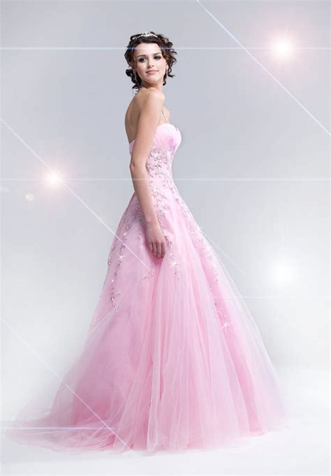 Light Pink Dresses by Quinceanera Dressesprom Gown Dresses Discount 2012