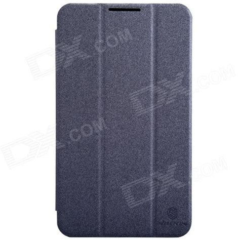 Nillkin Sparkle Flip Cover Asus Fonepad 7 Fe170cg Black nillkin protective flip open pc pu leather w stand