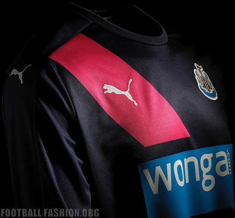 Jersey Newcastle United Away 2015 2016 newcastle united 2015 2016 third kit 8 football