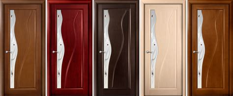The Decoration Doors With Wood Veneer Laminate Interior Doors