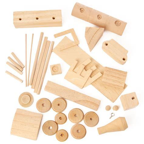 Wood Civil War Steam Engine Kit Craft Kits