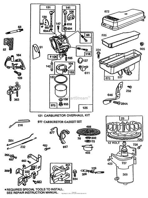 briggs and stratton intek engine wiring diagram html