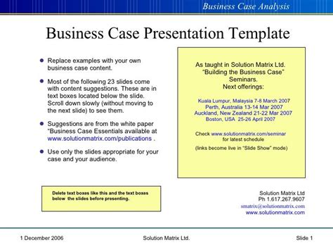 business plan format and presentation business case presentation cba pinterest business