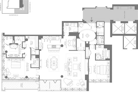 residences at the ritz carlton tucson floor plan ranch house model ritz carlton montreal floor plans meze blog