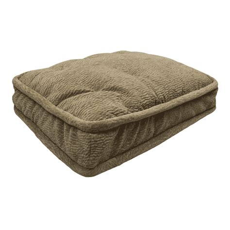 pillow top dog bed snoozer pillow top dog bed show dog 9 colors 4 sizes