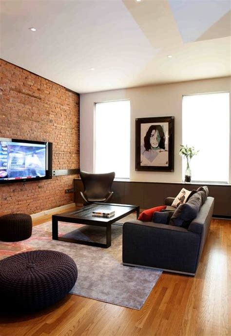 brick wall living room 125 living room design ideas focusing on styles and interior d 233 cor details 171 page 6