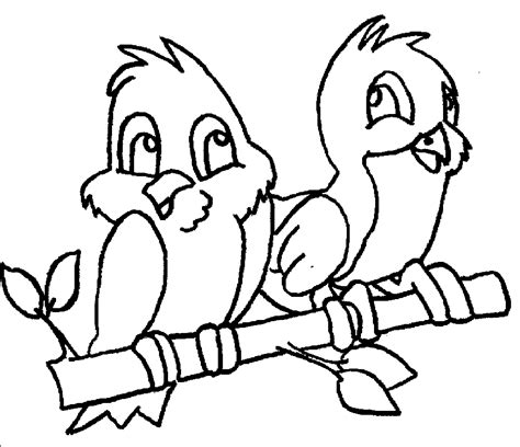 birds coloring page coloring home