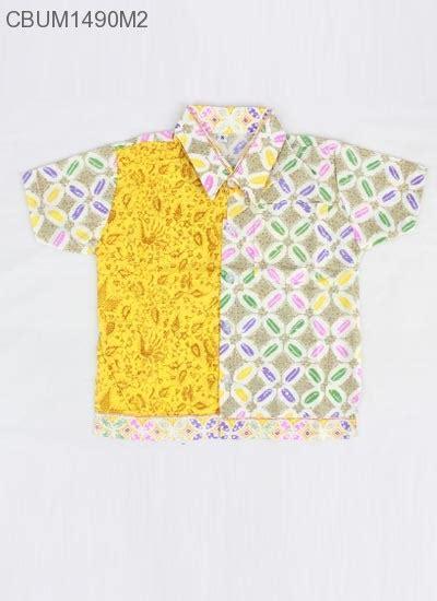 Kemeja Batik Anak Seragam Sekolah 100 Katun kemeja batik anak motif kawung size 0 kemeja murah batikunik