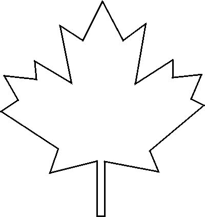 maple leaf pattern printable clipart best maple leaf template free printable clipart best
