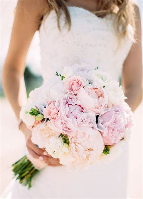 peonies bouquet 29 eye catching wedding bouquets ideas for 2016