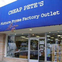 Ls Factory Outlet by Cheap Pete S Frame Factory Outlet Framing 1666 Locust