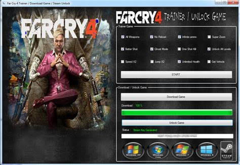 world pc ps4 weapons tips guide unofficial books far cry 4 trainer pc ps3 4 xbox 360 one hacksbook