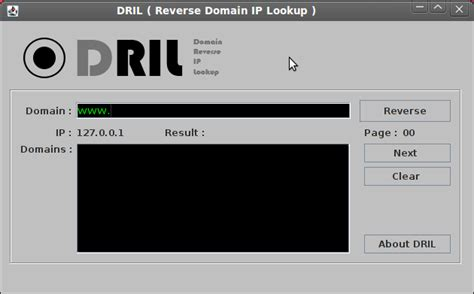 Domain Ip Lookup Dril Domain Ip Lookup Tool